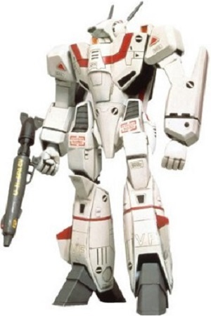 Macross Bandai Poseable Model Kit