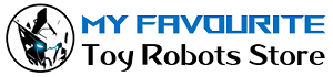 My Favourite Toy Robots Store Logo